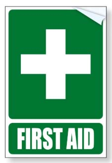 Sticker - First Aid Kit