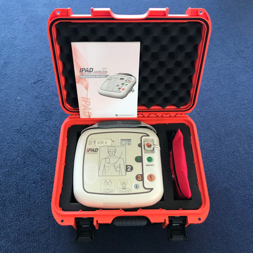 iPAD SP1 Defibrillator w/ Nanuk Hard Case