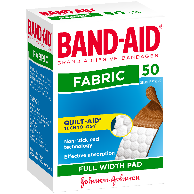 Band-Aid Fabric Plasters 50's