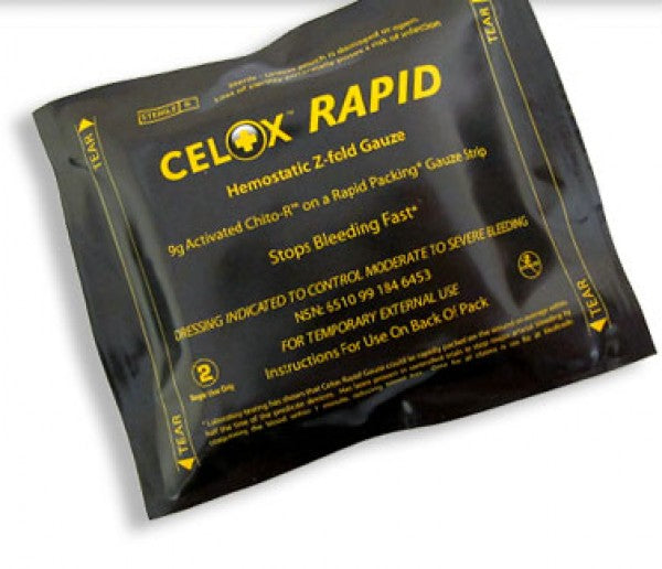 Celox Blood Clotting Gauze - Rapid