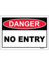 Load image into Gallery viewer, DANGER Workplace Signs- Various