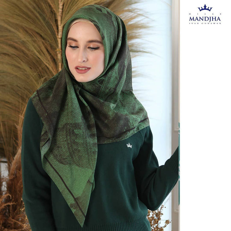 Italy Architecture Green Scarf