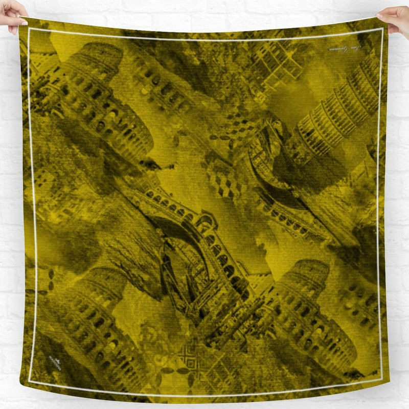 Italy Architecture Yellow Scarf