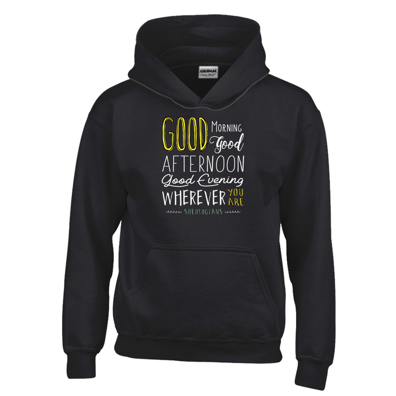 Good Morning, Good Afternoon, Good Evening | Youth Hoodie