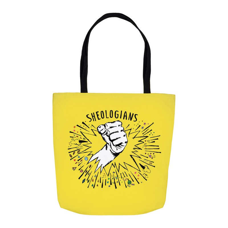 Sheologians Fist of Fury | Tote Bag