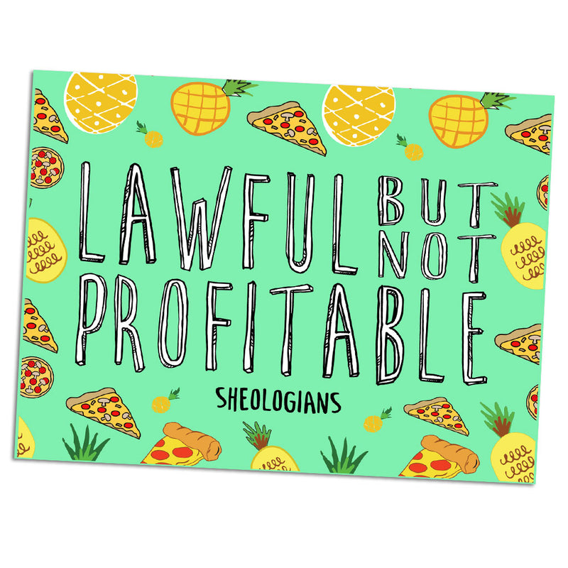 Lawful But Not Profitable | Sticker