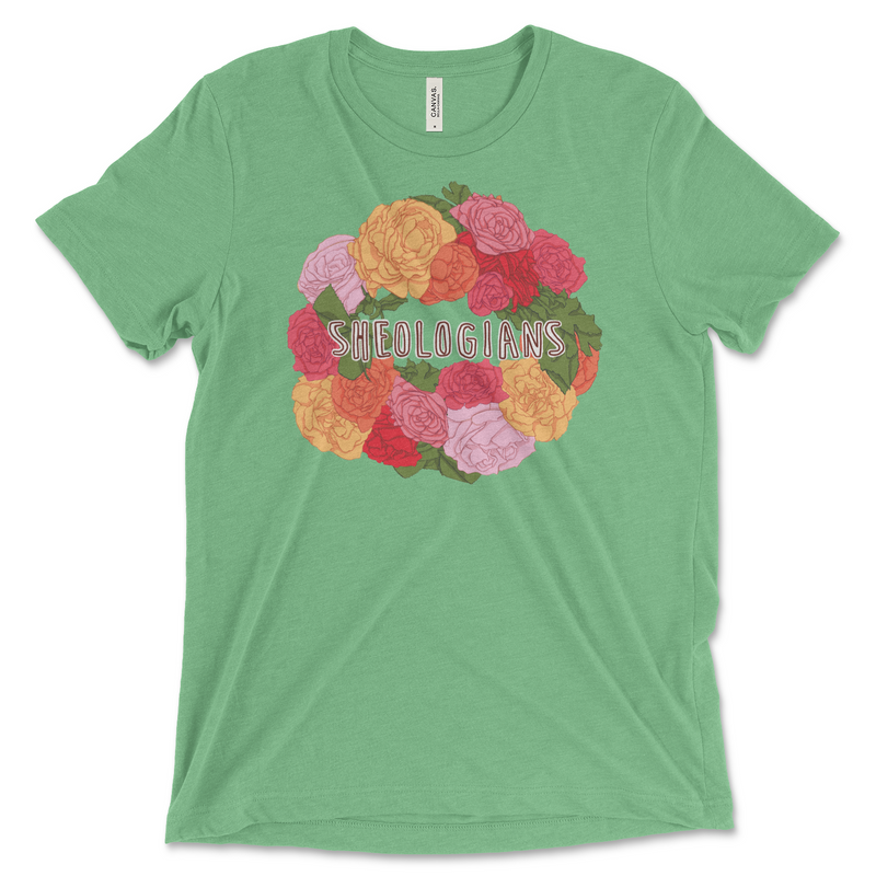 Rose Wreath Design Contest Winner | T-shirt