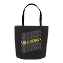 Sheologians On Repeat | Tote Bag