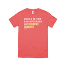 Great Is Thy Faithfulness Oh God My Father | T-Shirt