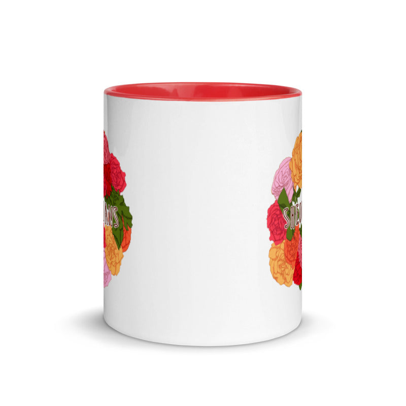 Rose Wreath Design Contest Winner | Mug