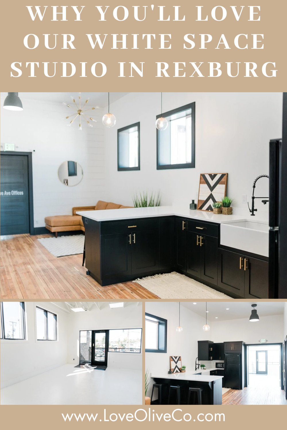Why You'll Love Our White Studio Space in Rexburg www.loveoliveco.com