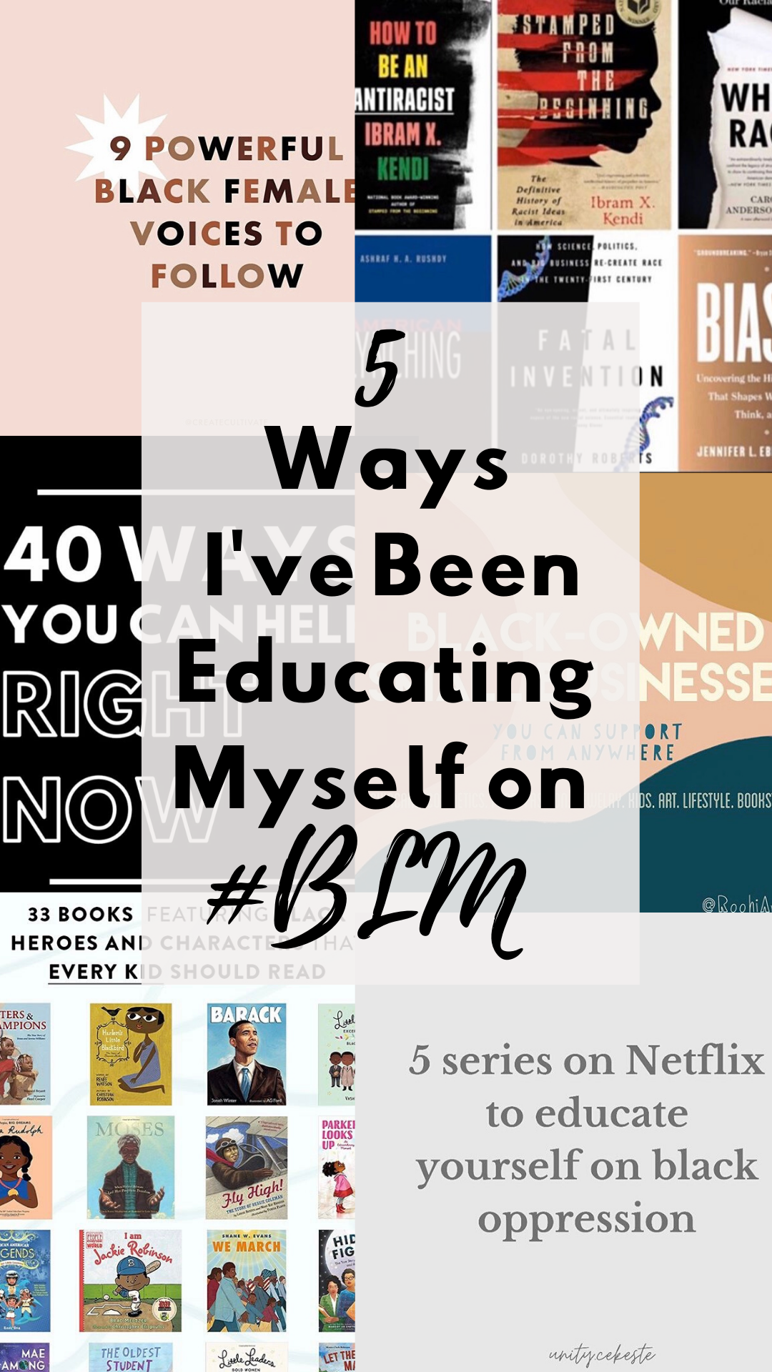 5 Ways I've Been Educating Myself on #BlackLivesMatter