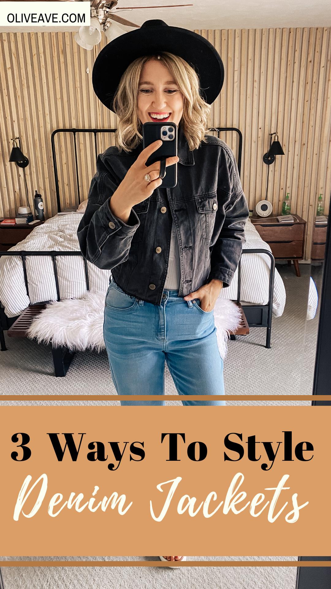 3 Simple Ways to Style A Denim Jacket