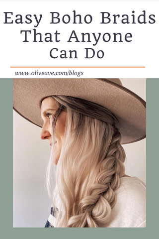 Easy Boho Braids that Anyone Can Do www.oliveave.com/blogs