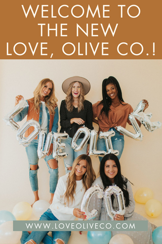 Welcome to the New Love, Olive Co. www.LoveOliveCo.com