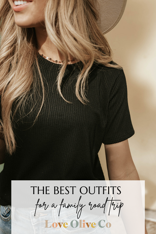 what to wear on your next family road trip loveoliveco.com