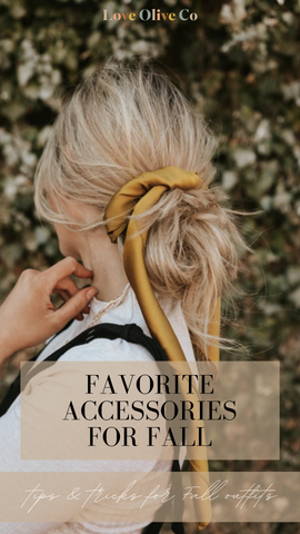 favorite accessories for fall outfits. www.loveoliveco.com