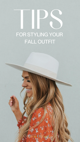 Tips for styling your fall outfit. www.loveoliveco.com