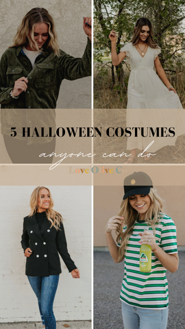 5 halloween costumes anyone can do. www.loveoliveco.com