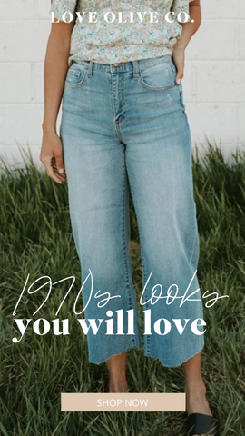 1970s looks you will love. shop now! www.loveoliveco.com