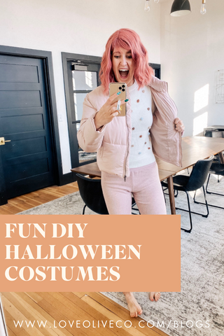 Fun DIY Halloween Costumes www.LoveOliveCo.com/blogs