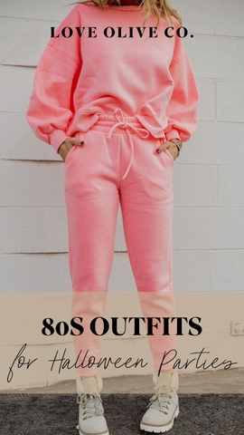 80s outfits for halloween parties. www.loveoliveco.com