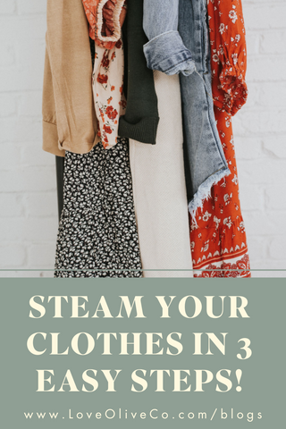 Steam Your Clothes in 3 Easy Steps!