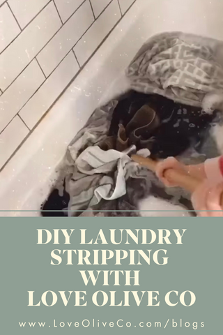 diy laundry stripping with love olive co. www.loveoliveco.com