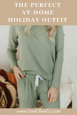 at home holiday style guide. www.loveoliveco.com