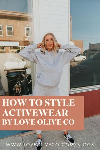 Activewear Style Guide. www.loveoliveco.com