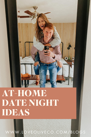 at-home valentines day date ideas. www.loveoliveco.com