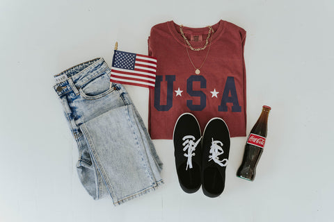 find your favorite fourth of july outfit. www.loveoliveco.com