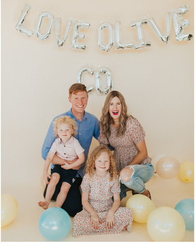 The family behind Love, Olive Co. www.LoveOliveCo.com