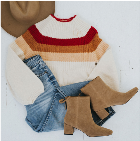 This sweater from my Thanksgiving Style Guide is giving me all the fall vibes. www.oliveave.com/blogs