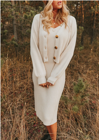 Sweater dresses are perfect for Thanksgiving. www.loveoliveco.com/blogs