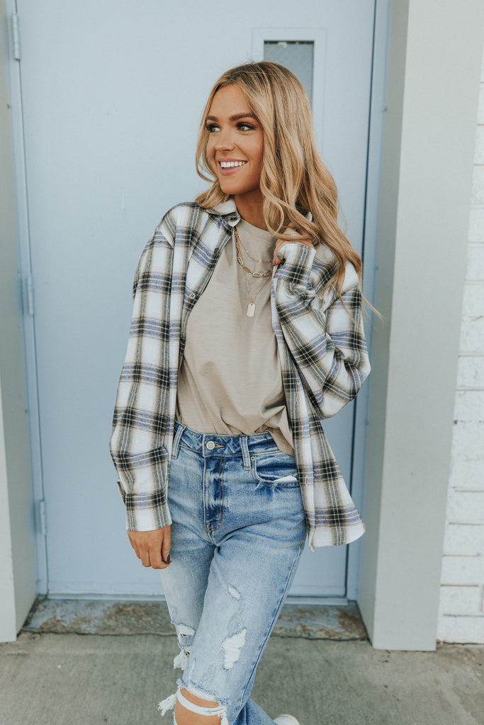 layering ideas for plaid and flannel