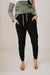Olive Ave Aaren Lounge Pant-Black