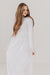 Claire Dress-White