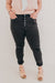Extended Jennifer Denim-Black