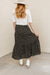 Restocked Honeysuckle Skirt-Black