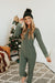 Love Olive Co. Larsa Onesie-Olive