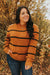 Love Olive Co. Spice Sweater-Rust