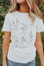 Olive Ave Boutique; Front View: Meet My Friends Top In White, Comes In Sizes Small, Medium, Large, Fabric: 100% Cotton
