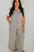 Plus Harriet Jumpsuit-Taupe