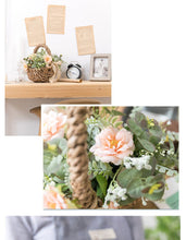 Load image into Gallery viewer, Flower Arrangement in Basket Centerpiece