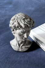 Load image into Gallery viewer, Resin David Head Greek Statue