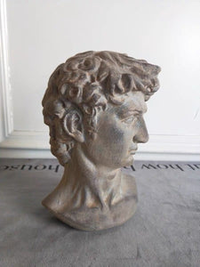 Resin David Head Greek Statue