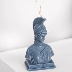 Ancient Greek Goddess Athena Candle