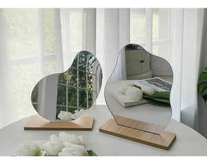 Acrylic / Glass Irregular Shape Mirror, Cloud Mirror, Bean Mirror, Round Mirror
