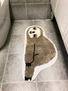 Sloth Non Slip Bath Mat